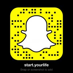 start.yourlife snapcode